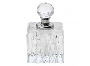 Skleněný flakón na parfém Allura - 4*4*6 cm