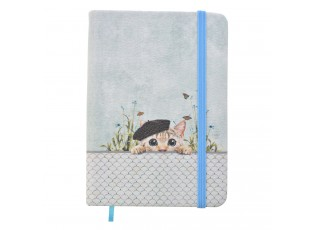Zápisník s kočičkou - 14*10 cm