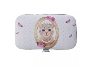 Sada manikúry s kočičkou Miauw - 6*11 cm