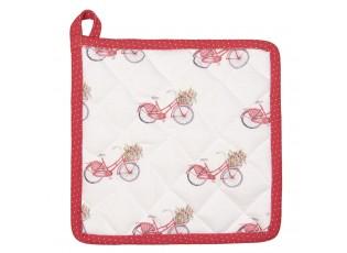 Kuchyňská bavlněná chňapka Red Bicycle - 20*20 cm