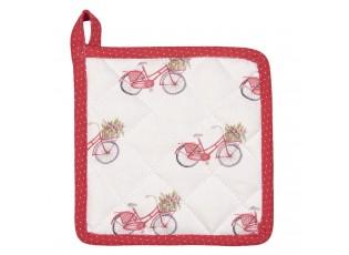 Kuchyňská bavlněná chňapka pro děti Red Bicycle - 16*16 cm