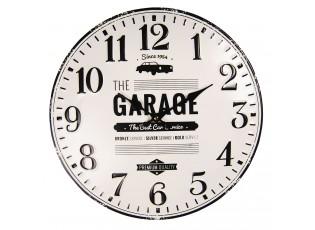 Nástěnné kovové hodiny The Garage – Ø 40 cm / 1*AA