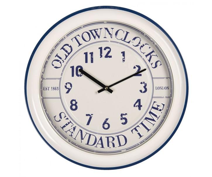 Nástěnné hodiny Old Town Clocks – Ø 43*7 cm / 1*AA