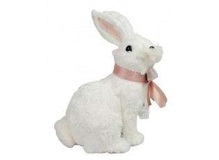 Bílý králík Rabbit - 17*13*24,5cm