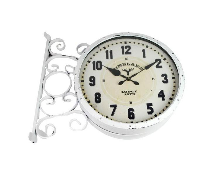 Venkovní nástěnné hodiny Double ∅39,5*13,5*45,5 cm