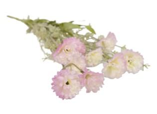 Růžová kytička Elis - 54 cm
