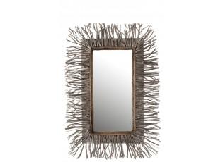 Dřevěné zrcadlo Branchy - 67*7*95 cm