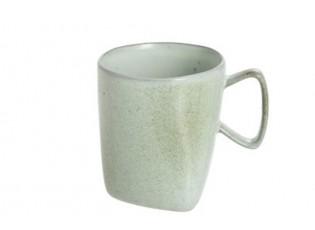 Zelený porcelánový hrneček Dot mint - ∅ 9*10 cm