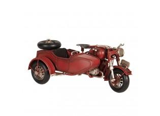 Model motocyklu s postranním vozíkem - 19*13*9 cm