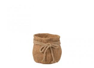 Skryje nevzhledný květináč a nechá vaši oblíbenou pokojovku zazářit. Zásluhou betonového provedení se dá obal na květináče umíst