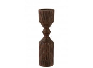 Krásný dřevěný svícen na váš stůl nebo komodu.