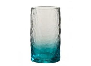 Modrá sklenička na vodu Verma - Ø 7*13,5 cm