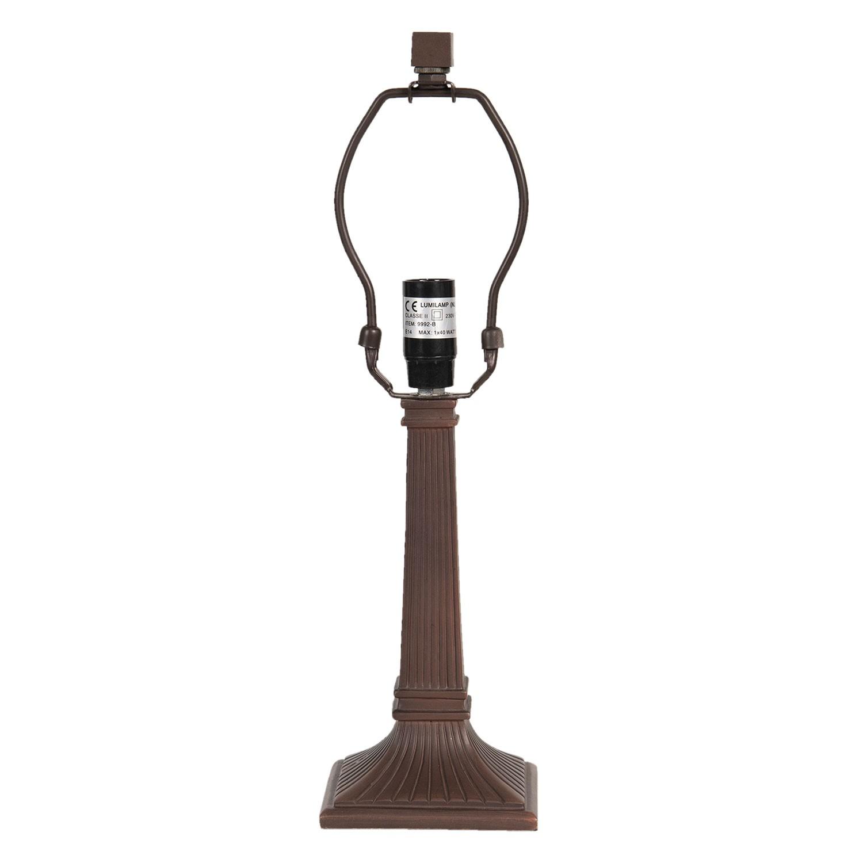 Levně Clayre & Eef Noha ke stolní lampě Tiffany - Ø11*38 cm 1x E14 max 40w