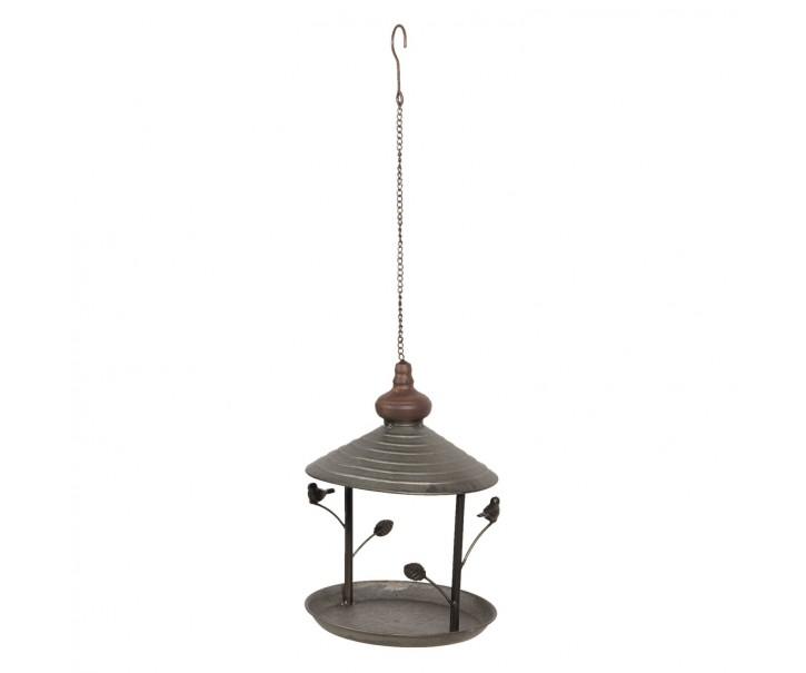 Závěsné ptačí retro krmítko - Ø 22*30 cm