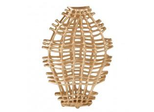 Zlatá váza Koral Gold S - 40*13*64 cm