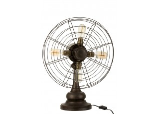 Stolní lampa ve tvaru větráku Fan - 43*24*56 cm