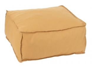 Žlutý sedák / puf Hassock- 60*60*28 cm