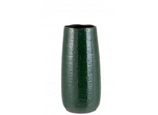 Tmavě zelená keramická váha se vzorem Seraphine S - 15*19*40 cm