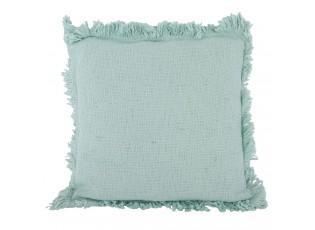 Mintový polštář s výplní Allison aqua - 45*45 cm