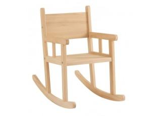 Dětské dřevěné houpací křeslo Rocking - 34,5*65*58 cm
