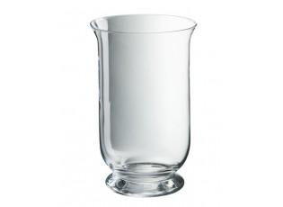 Transparentní skleněná váza Hurricane - Ø18*30 cm