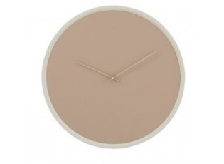 Béžové nástěnné hodiny Perrine S - Ø 30*4 cm