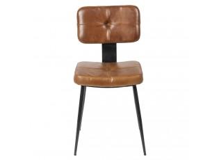 Jídelní židle s kovovou konstrukcí Alienor - 43*46*84 cm