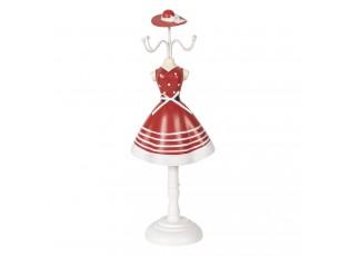 Stojánek na šperky v designu šatů s kloboukem Robe - 12*8*32 cm
