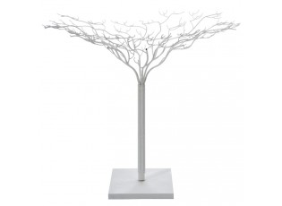 Bílý kovový dekorativní strom Leonois L - Ø 140*180 cm