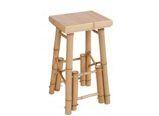 Barová bambusová stolička Bamb - 40*40*70 cm
