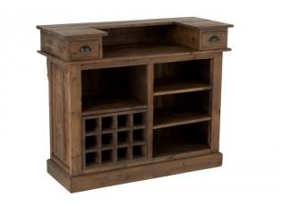 Dřevěný barový pult Browy - 120*50*100 cm
