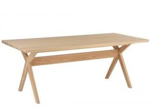 Přírodní dřevěný stůl Scandinavian - 200*90*76cm