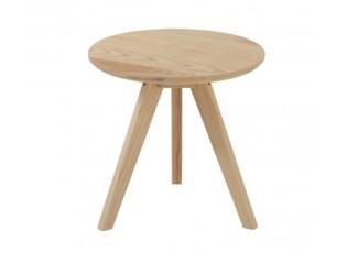 Přírodní odkládací stolek Scandinavian - Ø 43*45cm