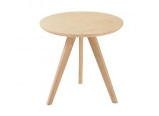 Přírodní odkládací stolek Scandinavian - Ø 50*49cm