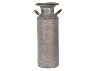 Dekorační plechová konvice na mléko Tole – Ø 15*43 cm