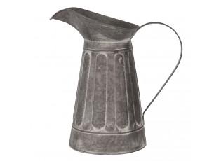 Dekorační plechový retro džbán Tole - Ø 33*19 cm