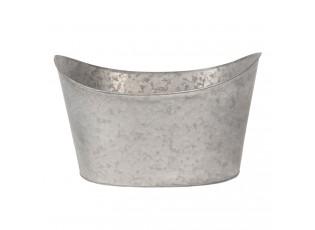 Dekorace plechová vanička - 49*33*28 cm