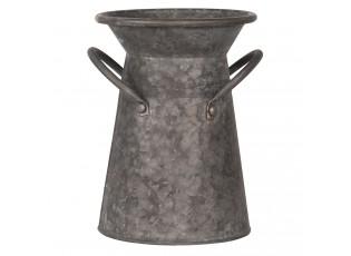 Dekorační plechový uhlák Tole – Ø 17*23 cm