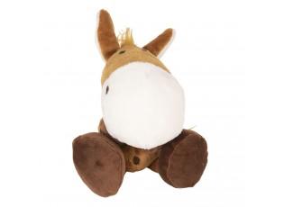 Plyšový kůň s přísavkou - 20 cm