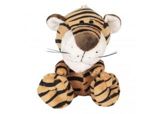 Plyšový tygr s přísavkou - 20 cm