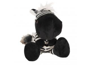 Plyšová zebra s přísavkou - 20 cm