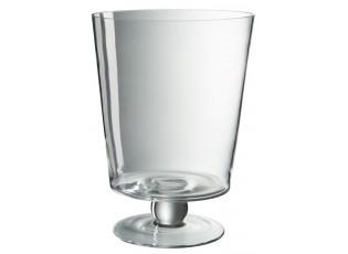 Skleněná váza Hurricane na noze - Ø 13*21 cm