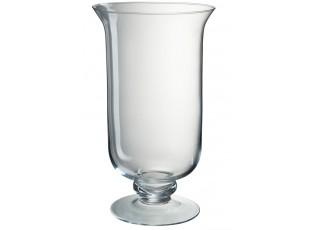 Skleněná váza Hurricane na noze - Ø 19*34 cm