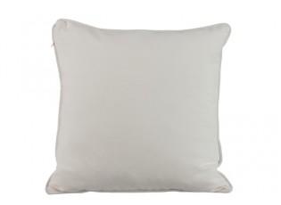 Bílý polštář s výplní Tuyauterie - 40*40 cm