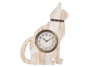 Stolní hodiny v designu kočky - 37*4*48 cm / 1*AA