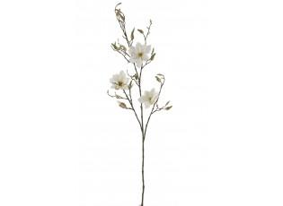 Dekorační květina bílá Magnolia - 119cm