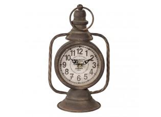 Stolní vintage hodiny Plaisance - 14*11*25/30 cm / 1*AA