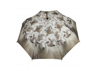 Deštník s potiskem oveček - 105*105*88cm
