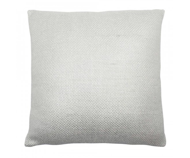 Krémový polštář se stříbrnou patinou Gypsy - 45*10*45cm
