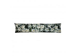 Zarážka / válec na okno s motivem květin - 20*10*90cm
